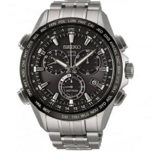 Seiko Astron Gents GPS Radio Controlled Titanium Solar Watch  SSE003J1