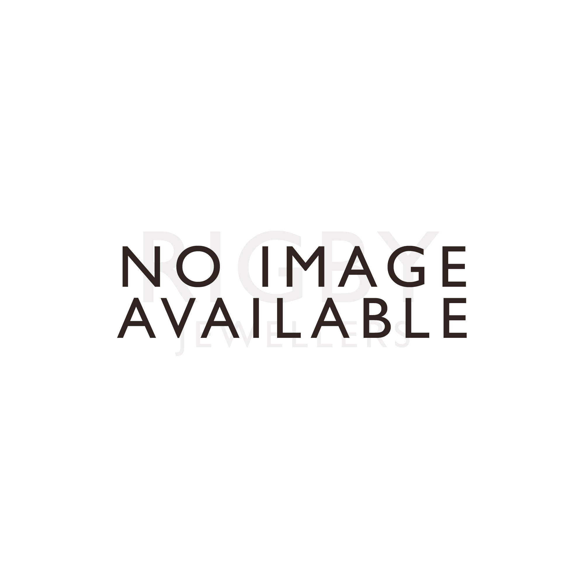 18ct Gold Rub Over Diamond 0.3ct Half Eternity Ring