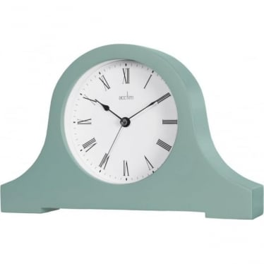 Acctim Green Napoleon Quartz Battery Mantle Clock Hyde 33715