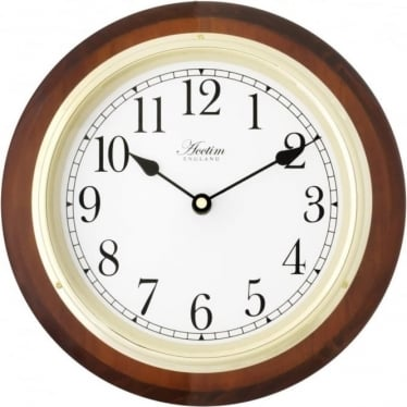 Acctim Radio Controlled Battery Wall Clock Boston 24186T