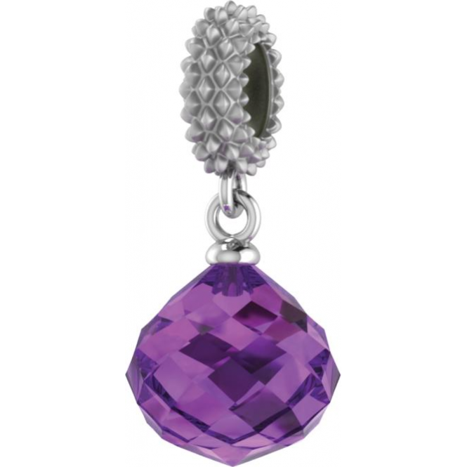 Endless Jewelry Amethyst Mysterious Drop
