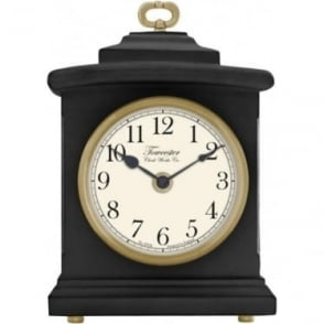 Black Quartx Battery Mantle Clock Blackheath 33703