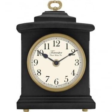 Black Quartx Battery Mantle Clock Blackheath 33703