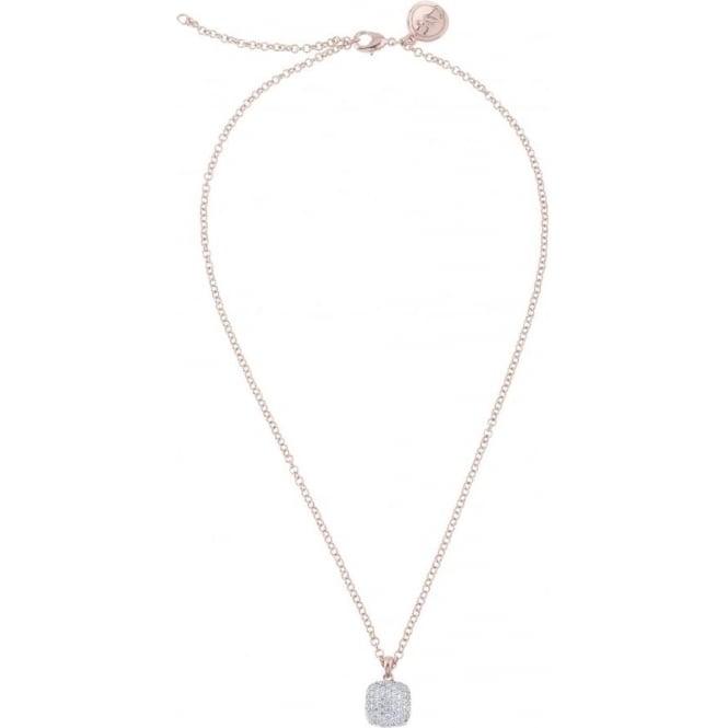 Bronzallure Jewellery Bronzallure Cubic Zirconia Pendant and Chain