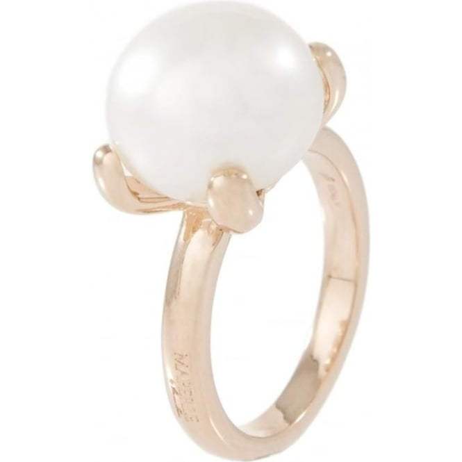 Bronzallure Jewellery Bronzallure Pearl Dress Ring