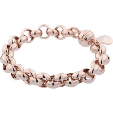Bronzallure Rolo Bracelet with Magnetic Clasp