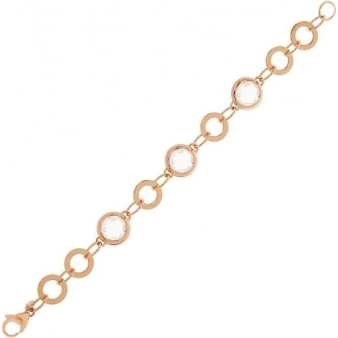 Bronzallure Jewellery Bronzallure Round Link Bracelet