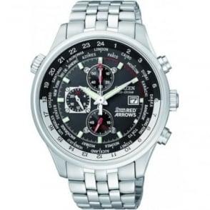 Eco-Drive Red Arrows Chronograph Watch on Bracelet CA0080-54E