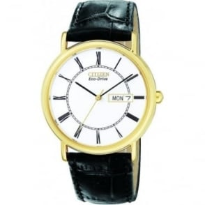Gents Citizen Eco-Drive Watch on Strap BM8242-16A