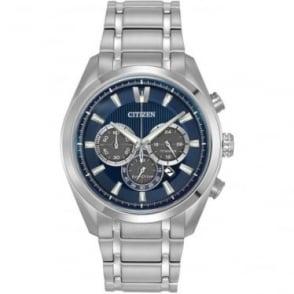 Gents Titanium Eco-Drive Watch on Bracelet CA4016-51L
