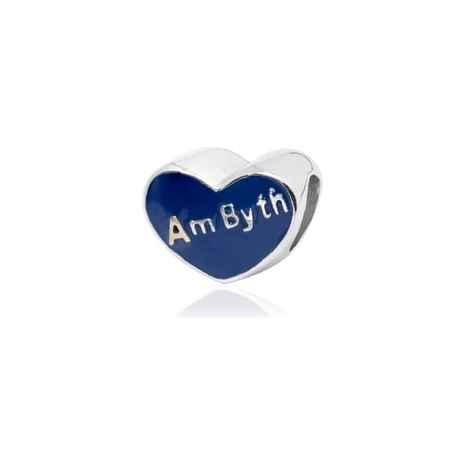 Clogau Silver & Gold Am Byth Heart Milestone Charm 3SLLC302