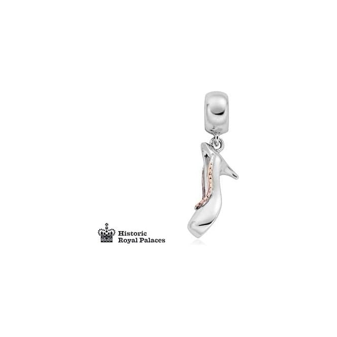 Clogau Silver & Gold Royal Palaces Shoe Milestone Charm 3SLLC143