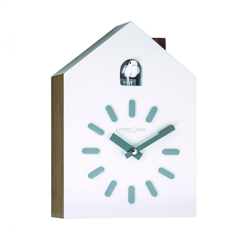 London Clock Company Cream Coloured Wall Clock With Bird Sounds