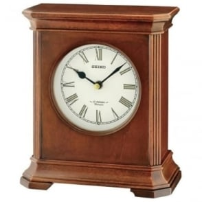Dark Wooden Mantle Clock Westminster Chime QXW238B