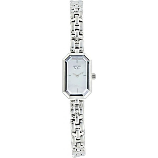 Citizen Watch Eco-Drive Ladies Stainless Steel Bracelet. EG2750-50D