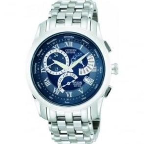 Eco-Drive Perpetual Calendar, Alarm Watch on Bracelet BL8000-54L