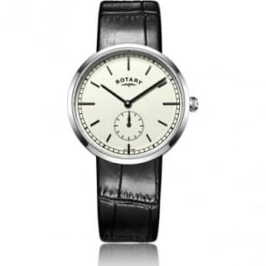 Gents Rotary Battery Watch, Leather Strap, Canterbury GS05060/02