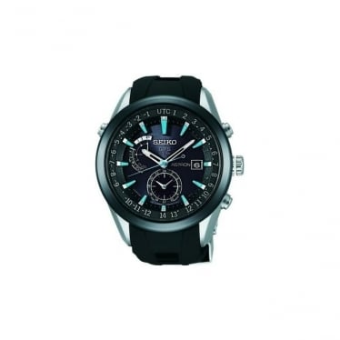 Gents Seiko Astron GPS Solar Powered Watch SAST009G