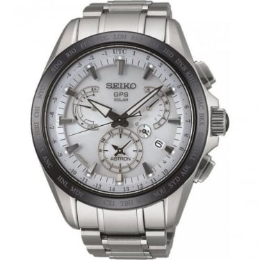 Gents Seiko Astron Radio Controlled GPS Watch SSE047J1