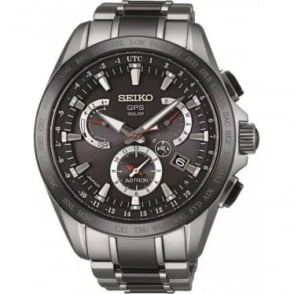 Gents Seiko Astron Titanium Radio Controlled GPS Watch SSE041J1