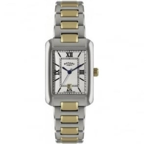 Gents Two Tone Stainless Steel Watch on Bracelet GB02651/01