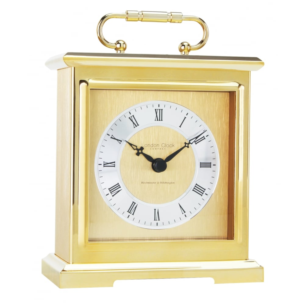London Clock Company Gold Finich Quartz Battery Chiming