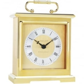 Gold Finich Quartz Battery Chiming Carriage Clock 02101