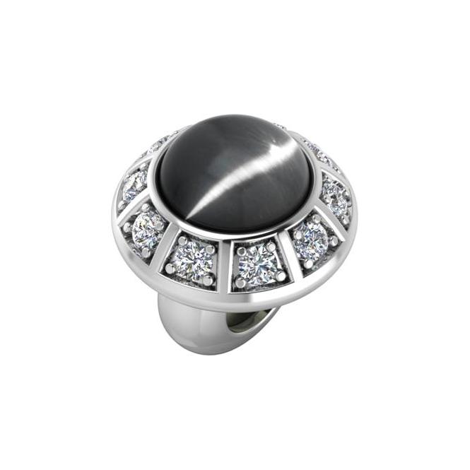 Endless Jewelry Grey Moon Galaxy