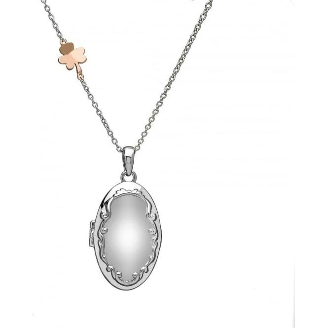 House of Lor Silver & Irish Gold Locket H-40012