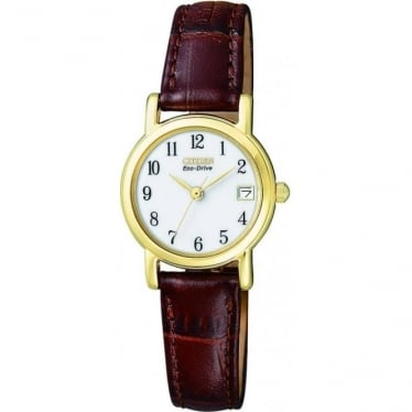 Ladies Citizen Eco-Drive Watch on Strap EW1272-01A