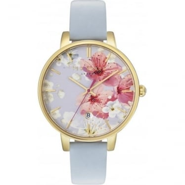 Ladies Gold Tone Ted Baker Quartz Watch on Strap TE10031546
