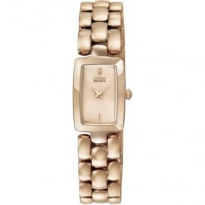 Ladies Rose Eco-Drive Watch on Bracelet EG2903-51Q