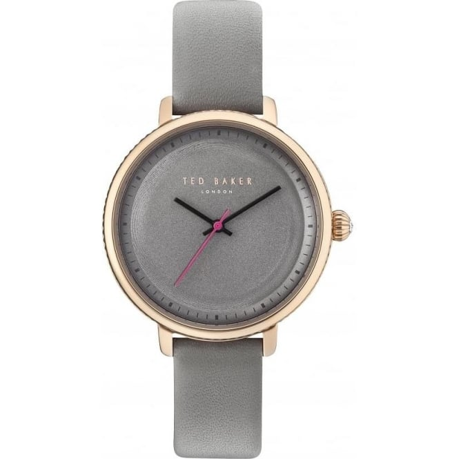 Ted Baker Watches Ladies Rose Gold ToneTed Baker Watch on Leather Strap TE10031534