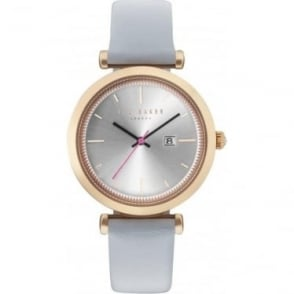 Ladies Rose Tone Ted Baker Quartz Watch on Strap TE10031520