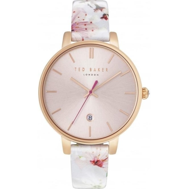 Ted Baker Watches Ladies Rose Tone Ted Baker Watch on Strap TE10031541