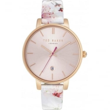 Ladies Rose Tone Ted Baker Watch on Strap TE10031541
