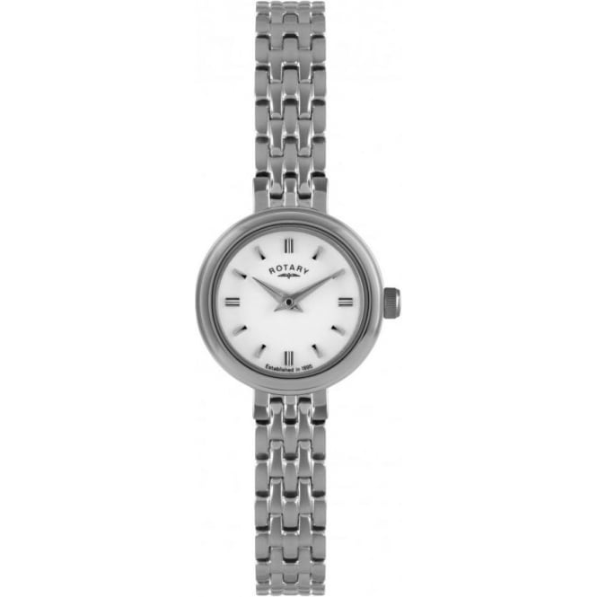Rotary Watches Ladies Stainless Steel Battery Watch on Bracelet LB02086/02