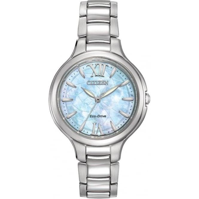 Citizen Watch Ladies Stainless Steel Citizen EcoDrive Bracelet watchEP5990-50D