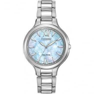 Ladies Stainless Steel Citizen EcoDrive Bracelet watchEP5990-50D