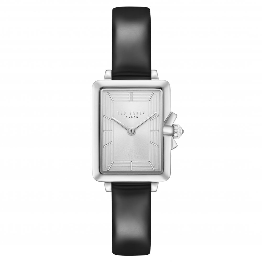 cae85642f201c Ladies Stainless Steel Quartz Watch on Leather Strap TE50271001
