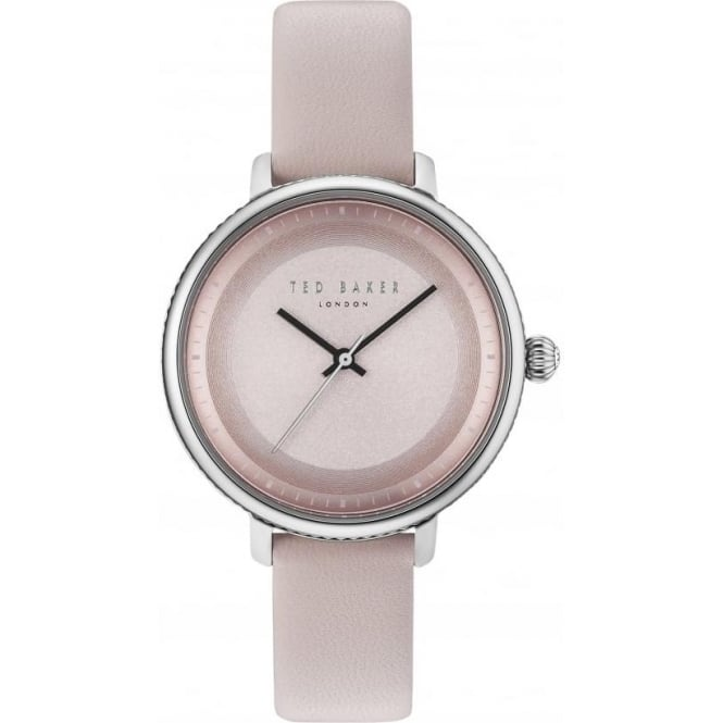 Ted Baker Watches Ladies Steel Ted Baker Watch on Pink Strap TE10031533