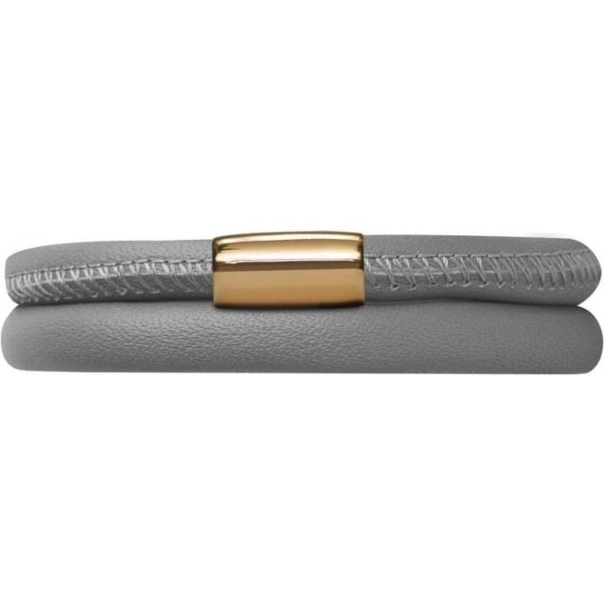 Endless Jewelry Leather Bracelet 40cm Grey