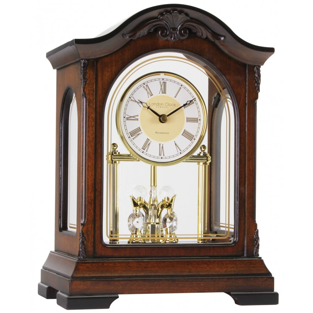 London Clock Company Wooden Westminster Chime Battery