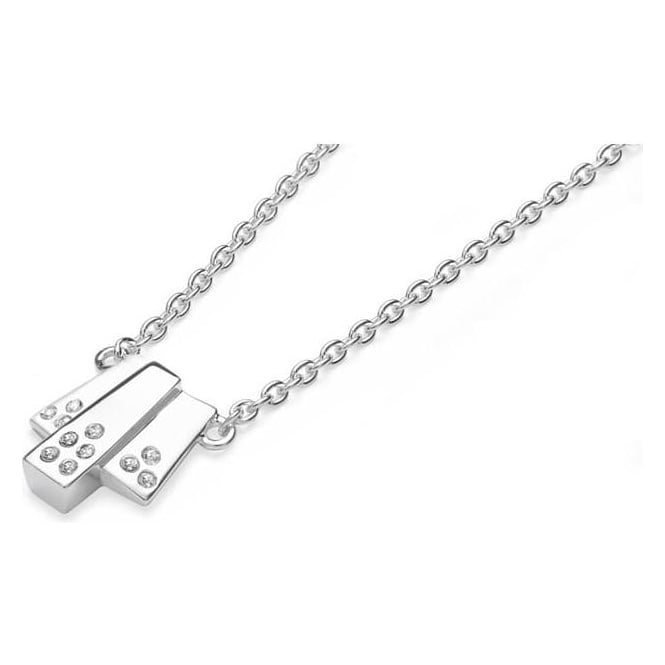 Lucy Q Sterling Silver Art Deco Pendant ADP2