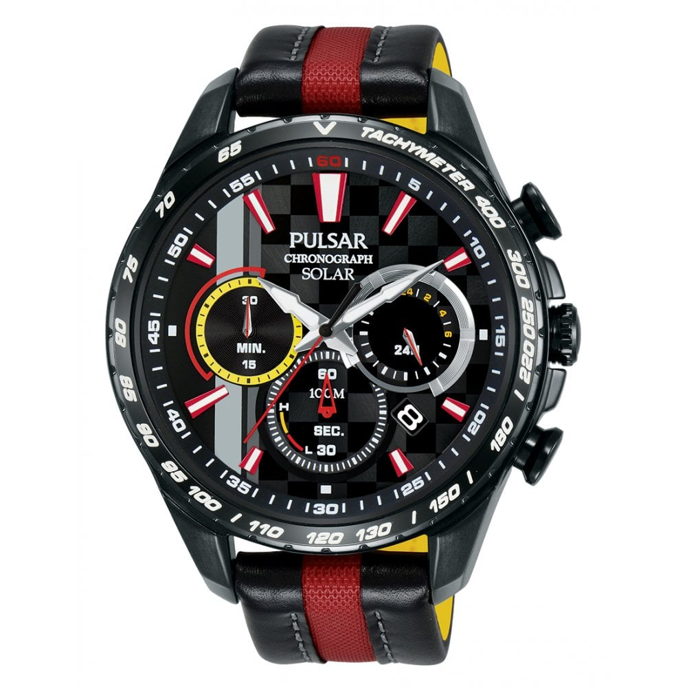 aeee83219 Gents M-Sport Solar Powered Limited Edition Chronograph Watch PZ5081X1