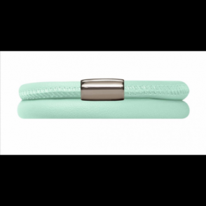 Mint Leather Bracelet 38cm/7.5inch