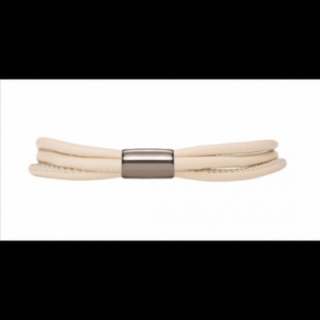 Nude 3-String Leather Bracelet 20cm(8.0inch)