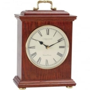 Oak Finish Wooden Battery Mantle Clock, Westminster Chime 03088