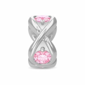 Pink Infinity Ocean Silver