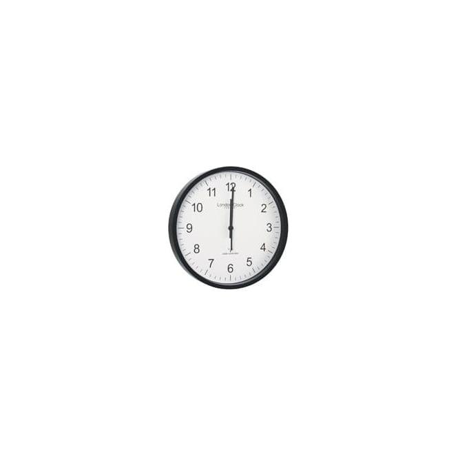 London Clock Company Radio Controlled Round Quartz Battery Wall Clock 36033